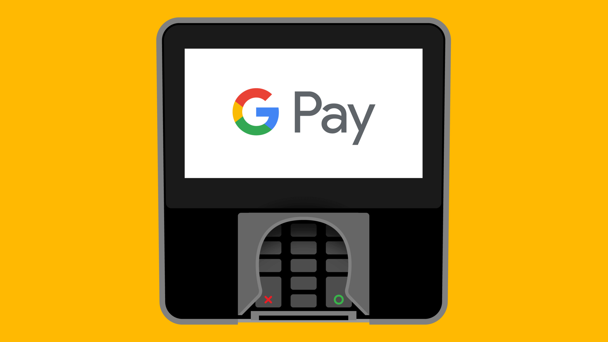 Google pay card reader
