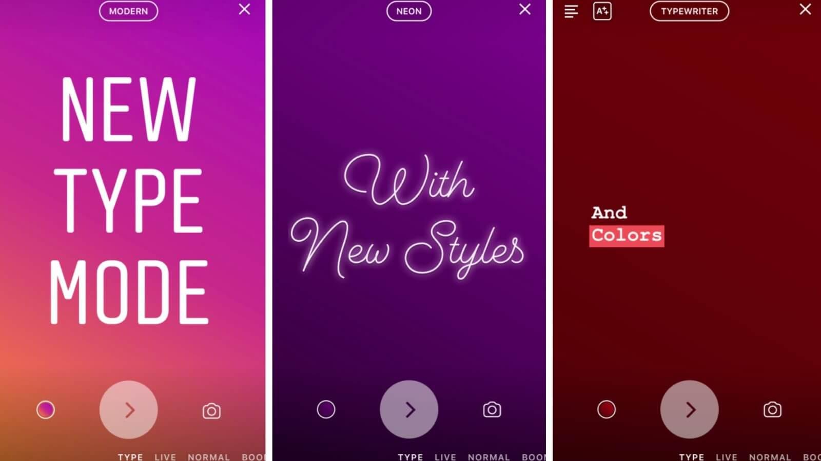 instagram 2 - Novo modo do Instagram Stories vai deixar seus textos mais estilosos