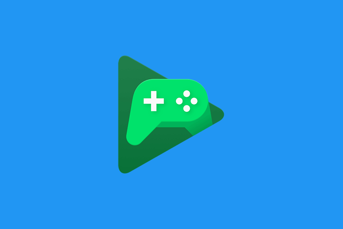 Google Play Games Feature Image Blue