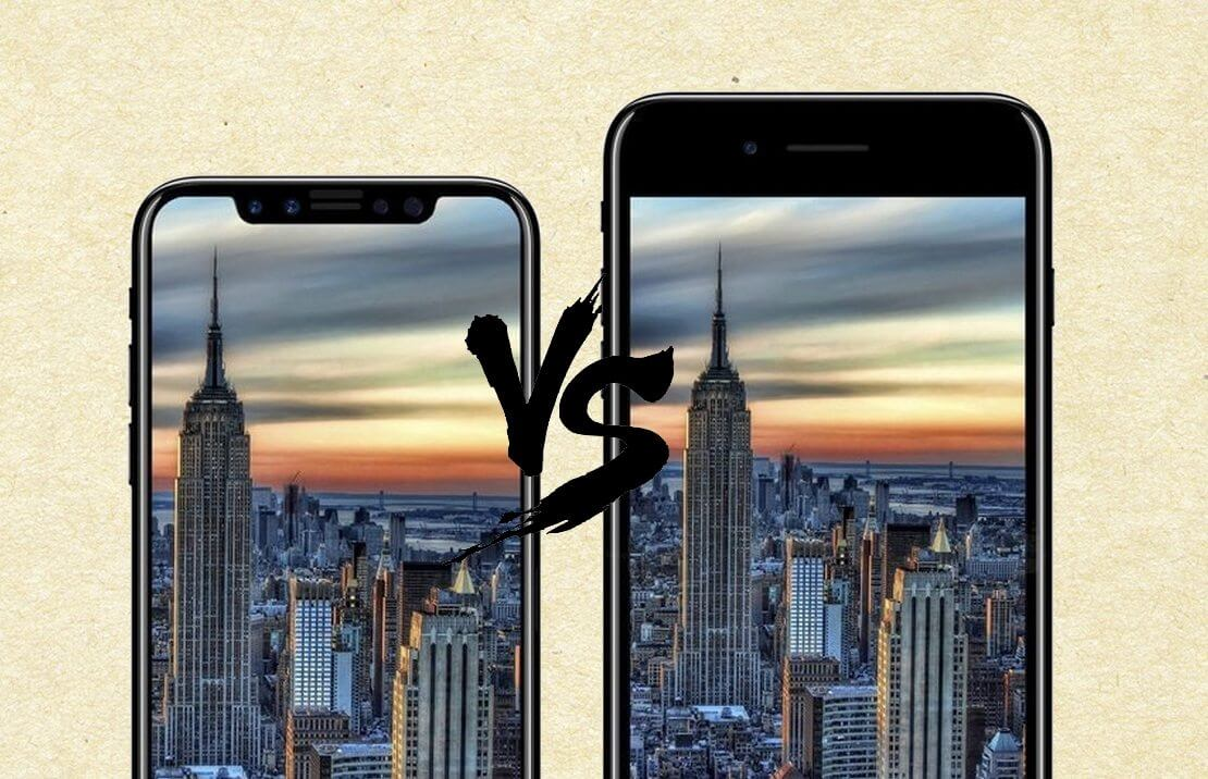 iPhone 8 Plus ou iPhone X: a câmera é diferente?