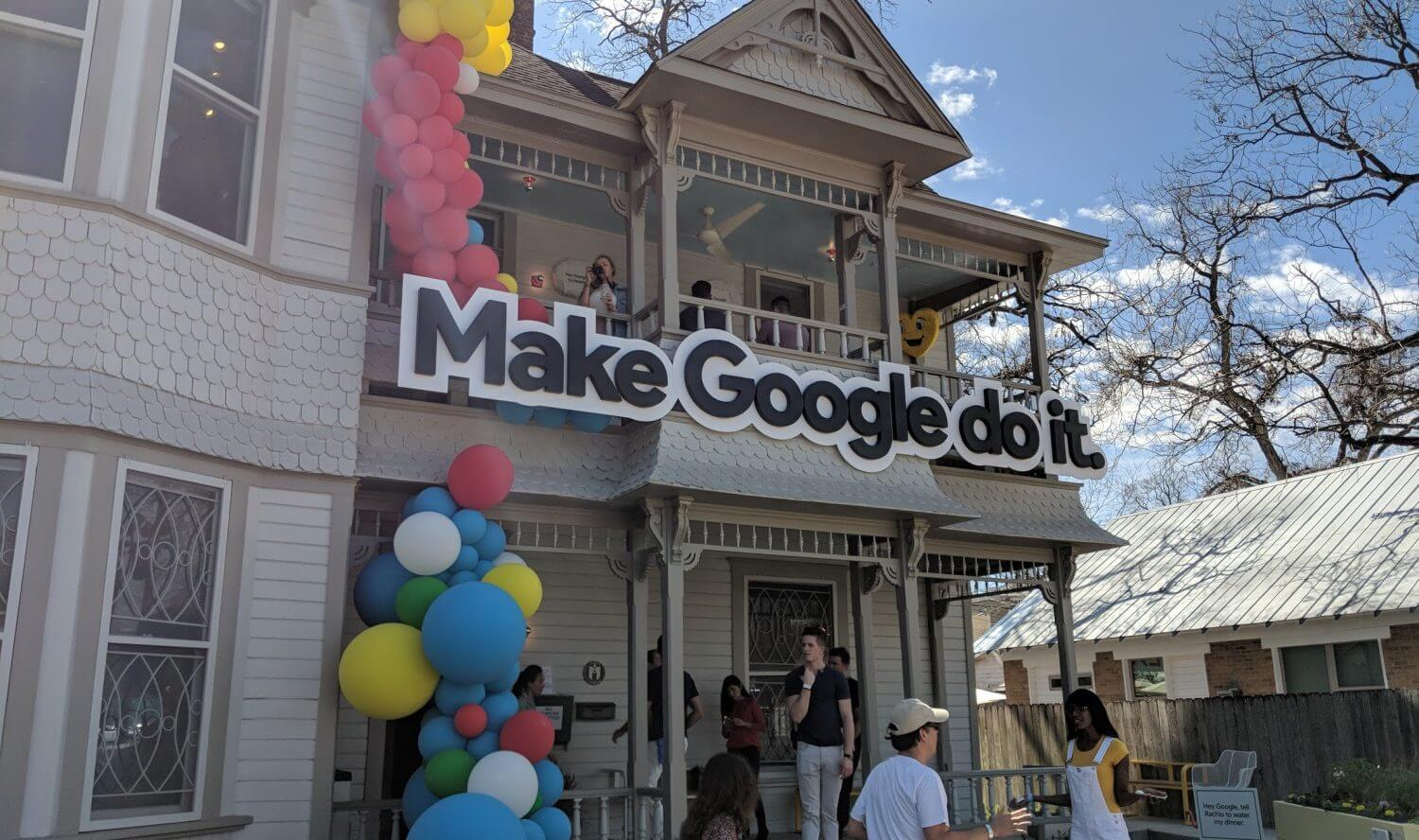 google assistant fun house1