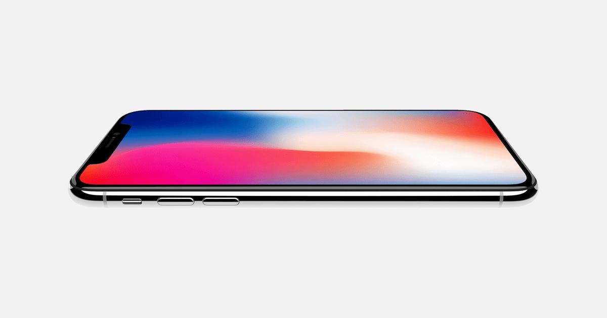 iPhone X, ainda com notch