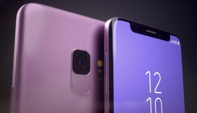 samsung - Assim seria o Galaxy S9 se ele tivesse o notch do iPhone X