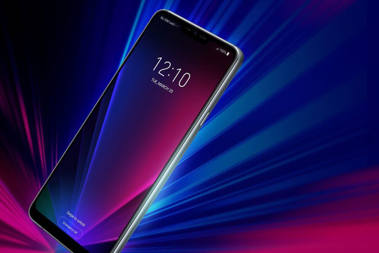 LG G7 ThinQ Render leak