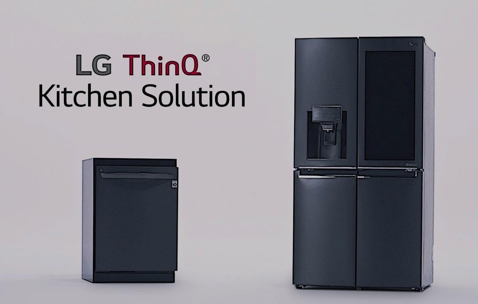LG ThinQ Kitchen Solution Release crop