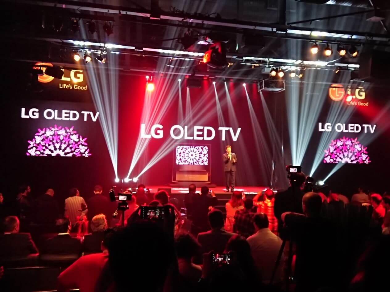TV Papel de Parede e novas OLEDs da LG chegam ao Brasil