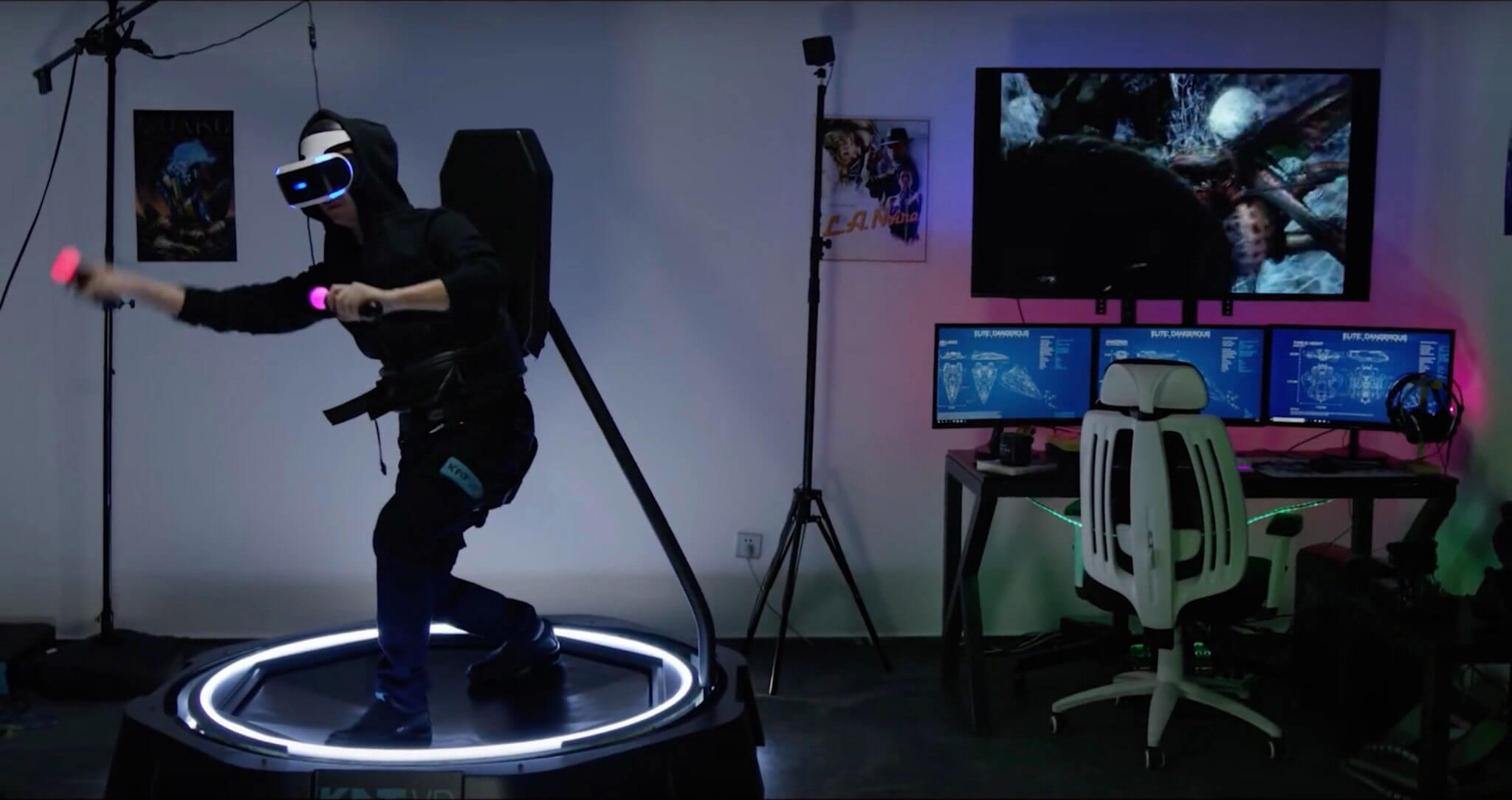 KAT Walk Mini: conheça a nova tecnologia de realidade virtual