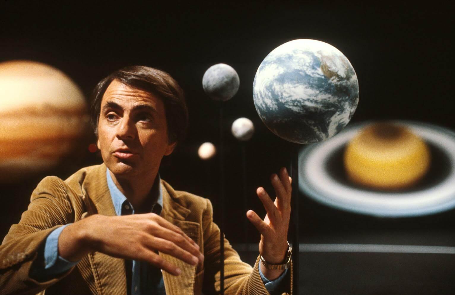 Uma entrevista inesquecível com o brilhante astrofísico Carl Sagan 6