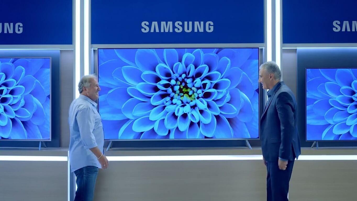 Samsung divulga vídeos da promoção de telas grandes com jogadores famosos