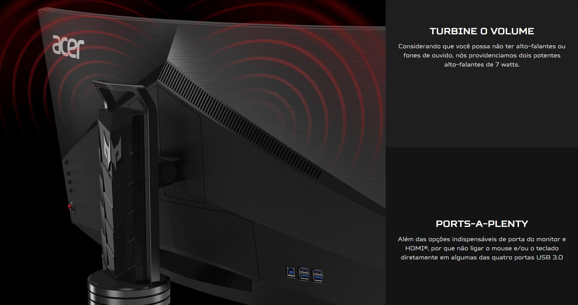 Conheça Acer Predator X34, o monitor ultrawide com G-SYNC