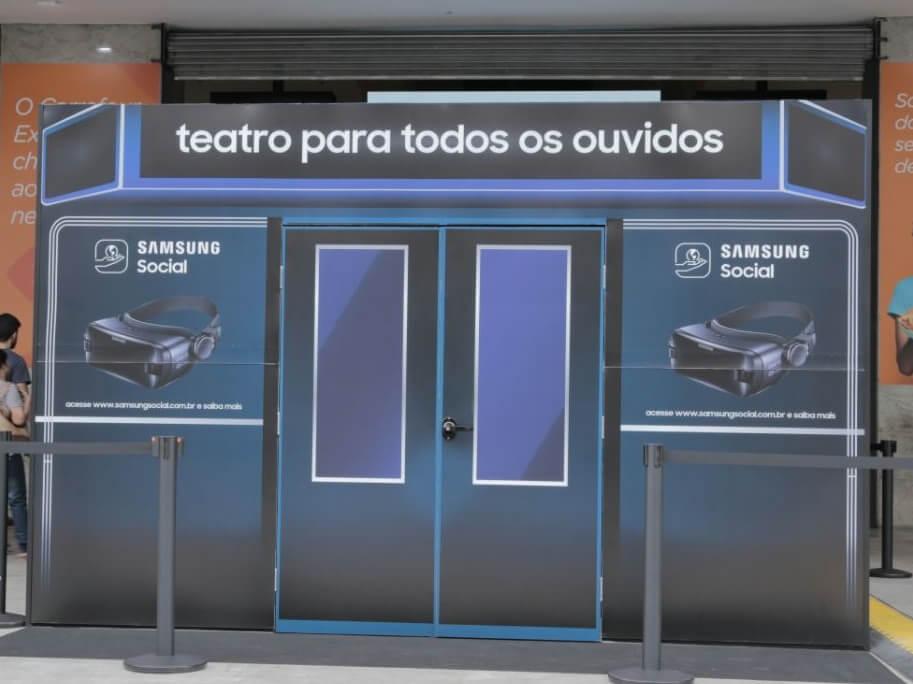 Samsung traz nova temporada do projeto Teatro Para Todos os Ouvidos