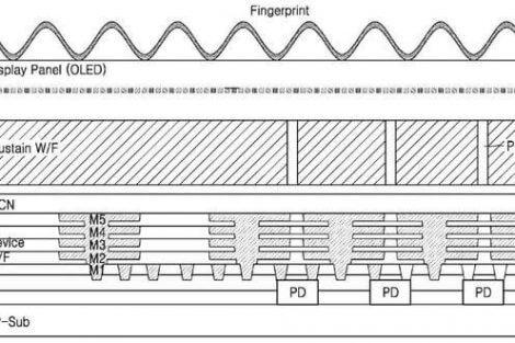 02 470x313 - Samsung registra nova patente de leitor de digitais sob a tela
