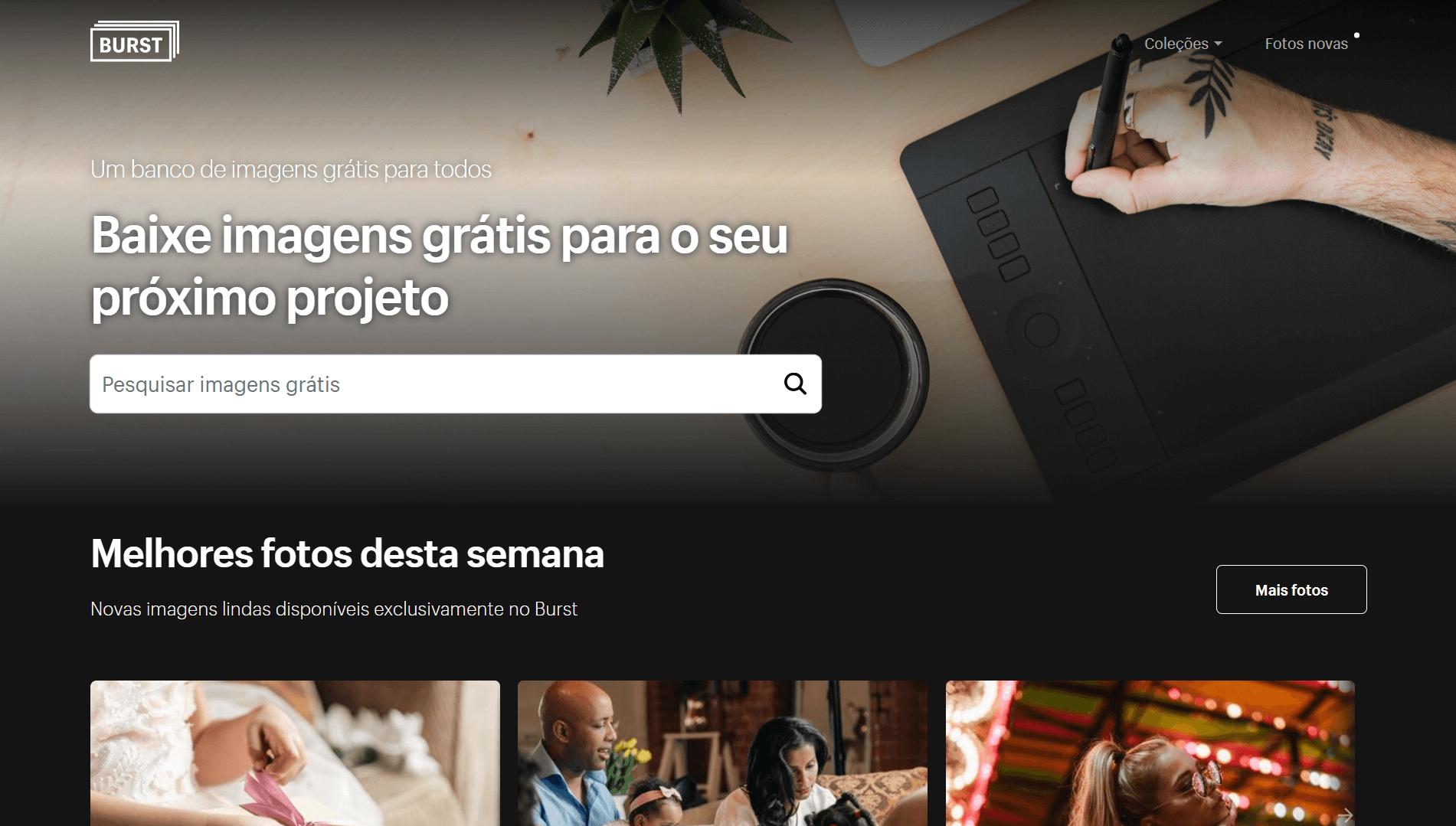 Conheça Burst, o banco de imagens gratuitas da Shopify que é totalmente localizado em português 5