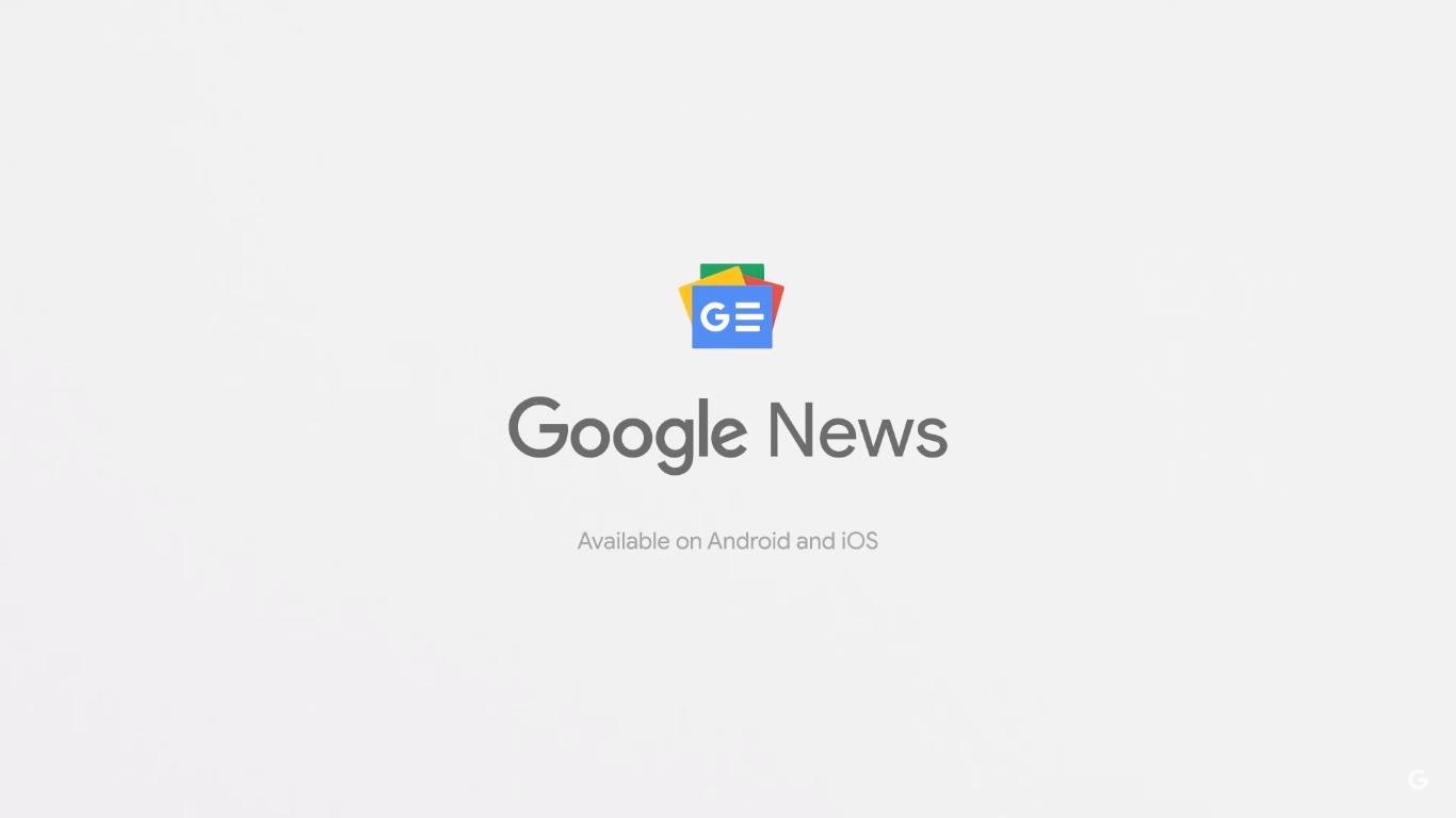 Captura de Tela 25 - Google I/O: inteligência artificial também está no novo Google Notícias