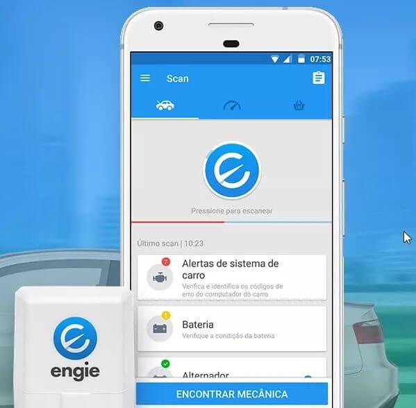 Review: engie - deixe seu carro mais inteligente e conectado. Engie é um dispositivo conectado à smartphones que possibilita um diagnóstico inteligente sobre o consumo de combustível e a saúde de seu carro.