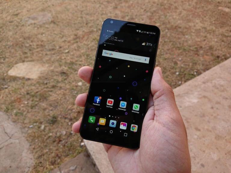 LG Q6 e Q6+ ganham atualização de software que traz modo retrato para a câmera de selfie