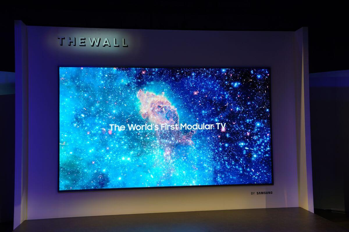 Samsung microled wall
