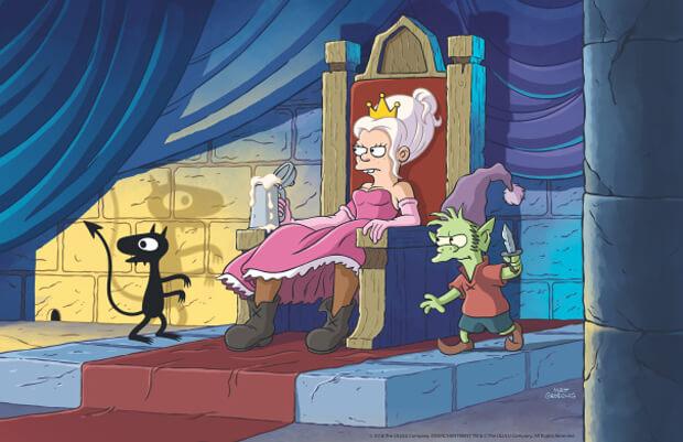 Disenchantment, do criador de Os Simpsons, chegará ao Netflix em agosto