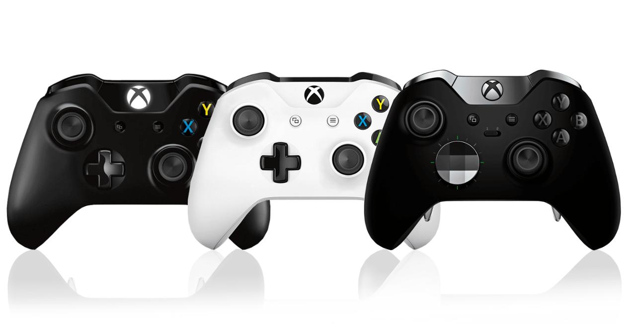 featured image xbox controllers 1 - Novo controle de Xbox One terá foco total em acessibilidade; sugere vazamento