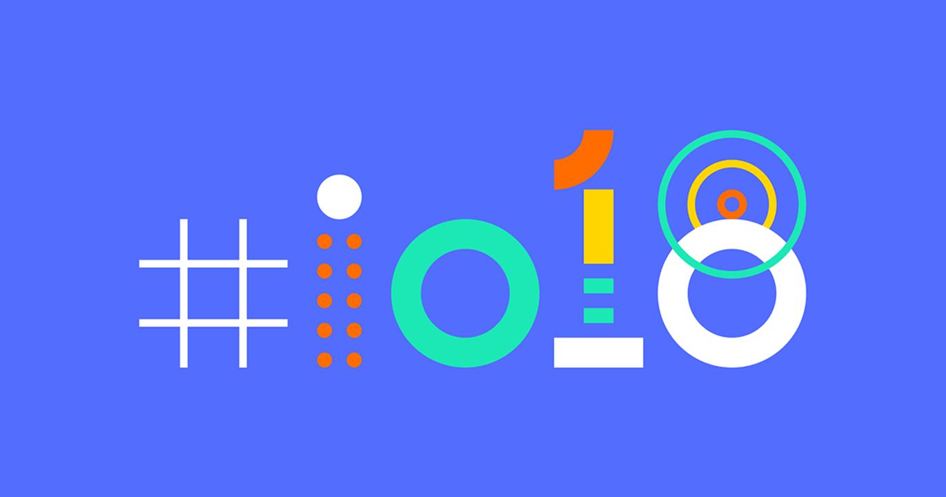 Google io 2018 banner