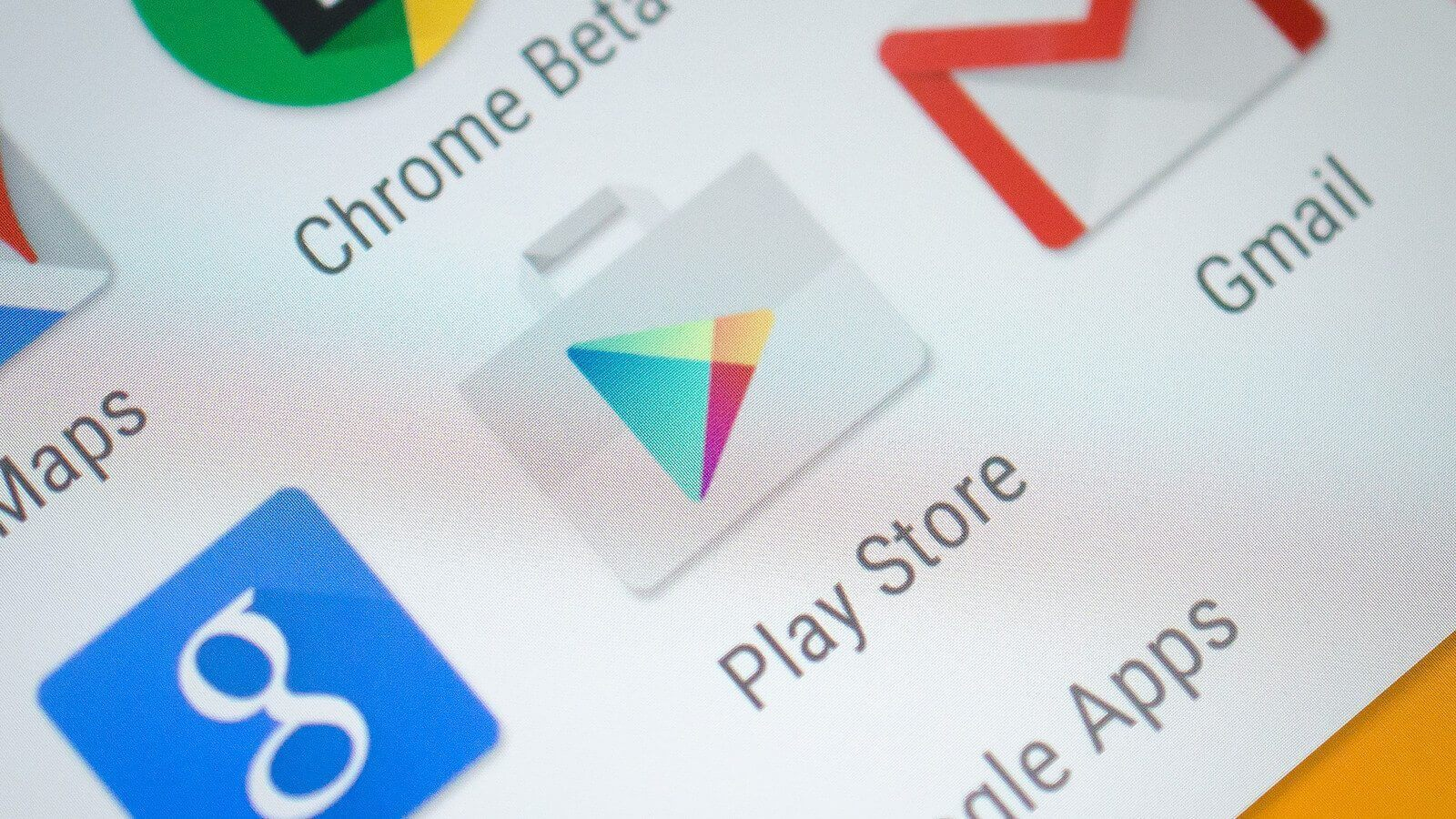 Google play icon closeup 1