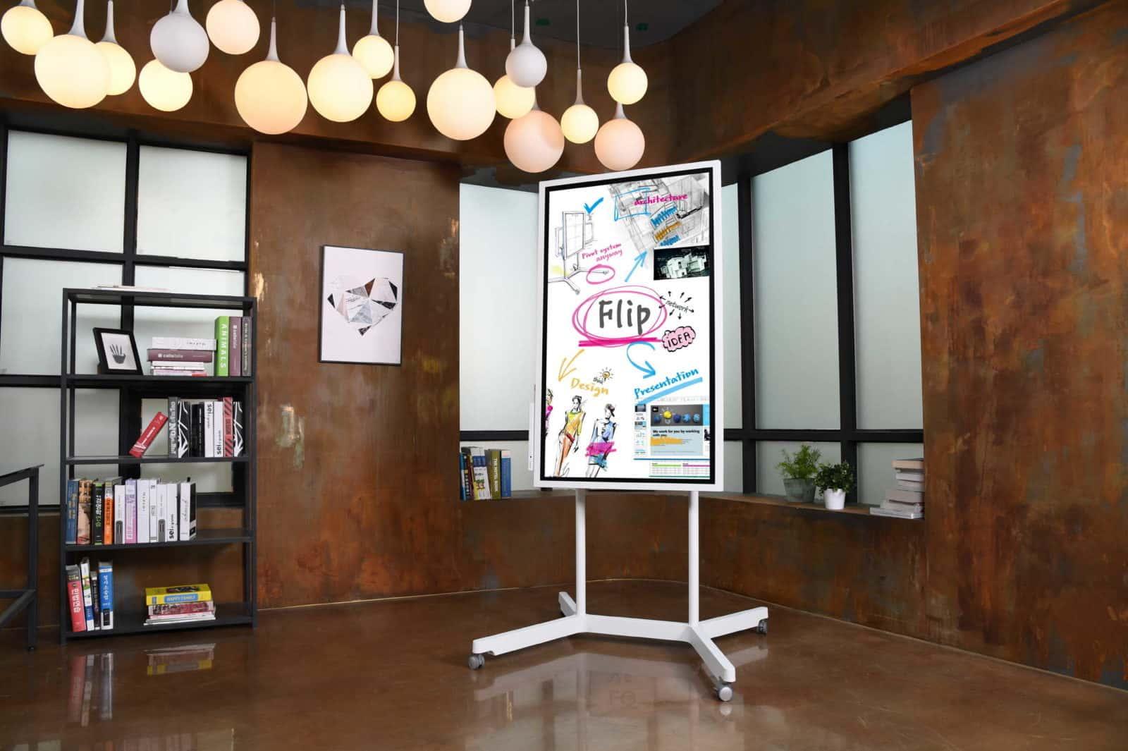 Samsung flip o quadro interativo para reuniões é destaque na conferência futuro rio 2
