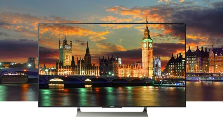 Sony tv 4k android x905f
