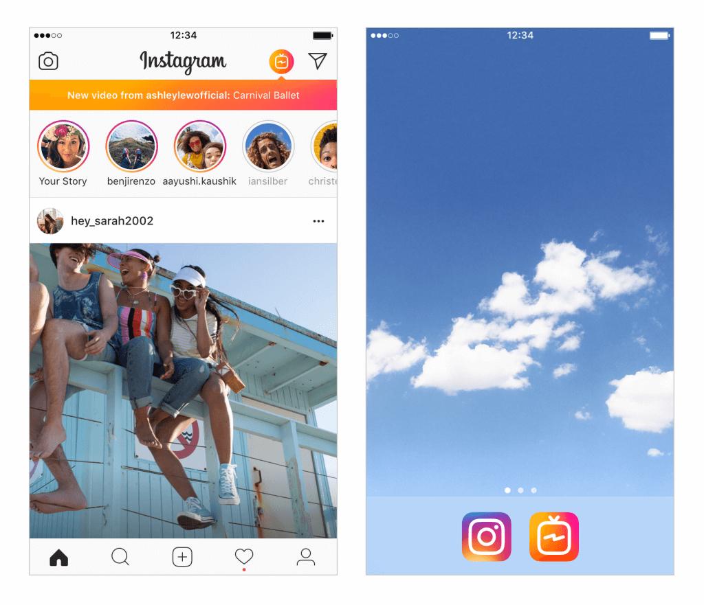Instagram anuncia igtv, o novo app de tv voltado para criadores de conteúdo. Permitindo vídeos mais longos, o igtv promete agradar a você que passa horas assistindo stories no instagram.