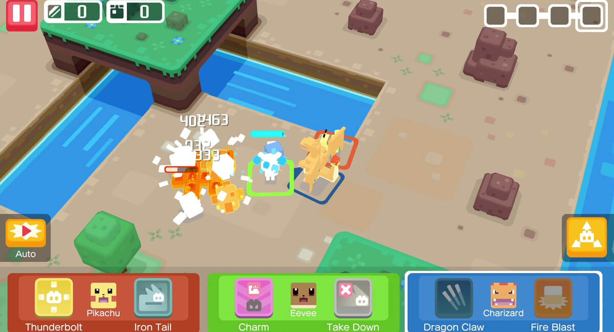 Pokémon Quest é lançado para sistemas Android e iOS