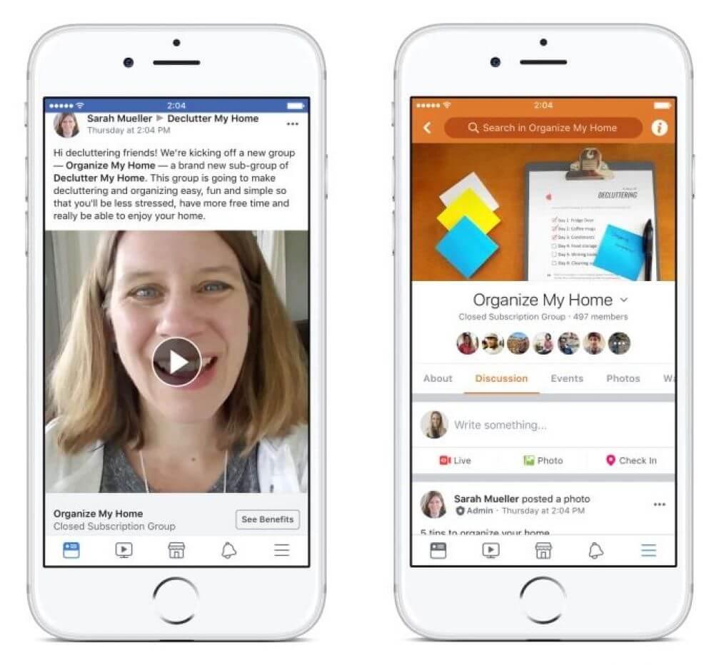 Facebook inicia testes para cobrar por conteúdo em grupos. Agora será possível ser assinante de algum grupo no facebook para acesso a conteúdo exclusivo. Mas a novidade ainda está em período de teste.