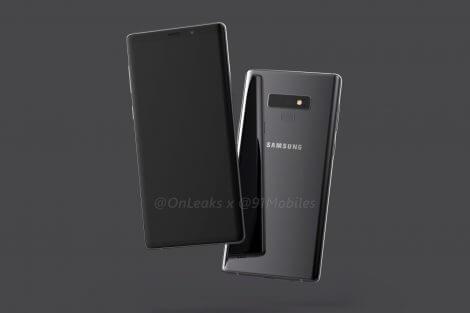 Galaxy Note 9: vazamento revela design do aparelho 9