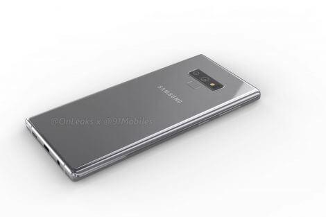 Galaxy Note 9: vazamento revela design do aparelho 12
