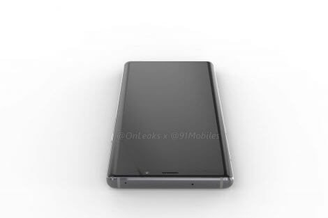 Galaxy Note 9: vazamento revela design do aparelho 11