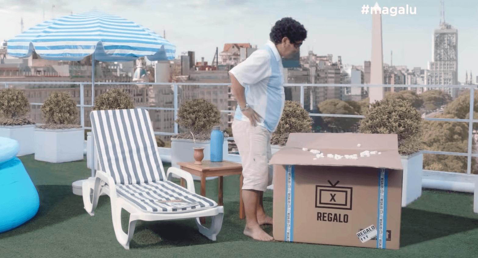 Em brincadeira magazine luiza envia tv's zicadas para a argentina