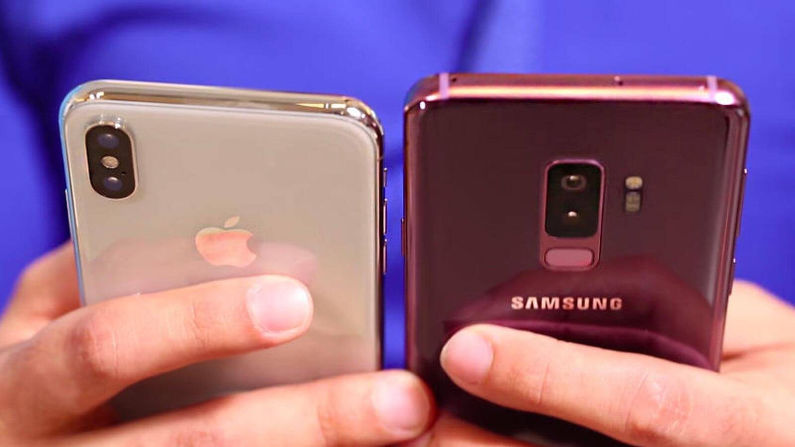 Galaxy S9 vs iPhone X - Galaxy S9 passa o iPhone X e torna-se o celular mais vendido do mundo em abril