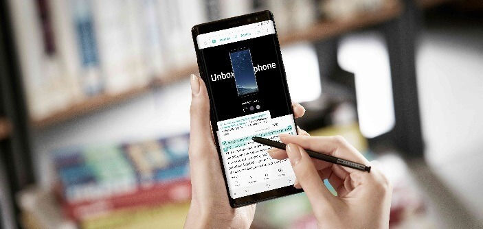 Saiba como aproveitar ao máximo a S Pen no Galaxy Note 8