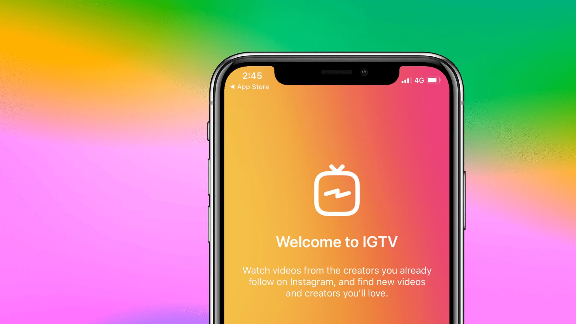 Igtv iphone app