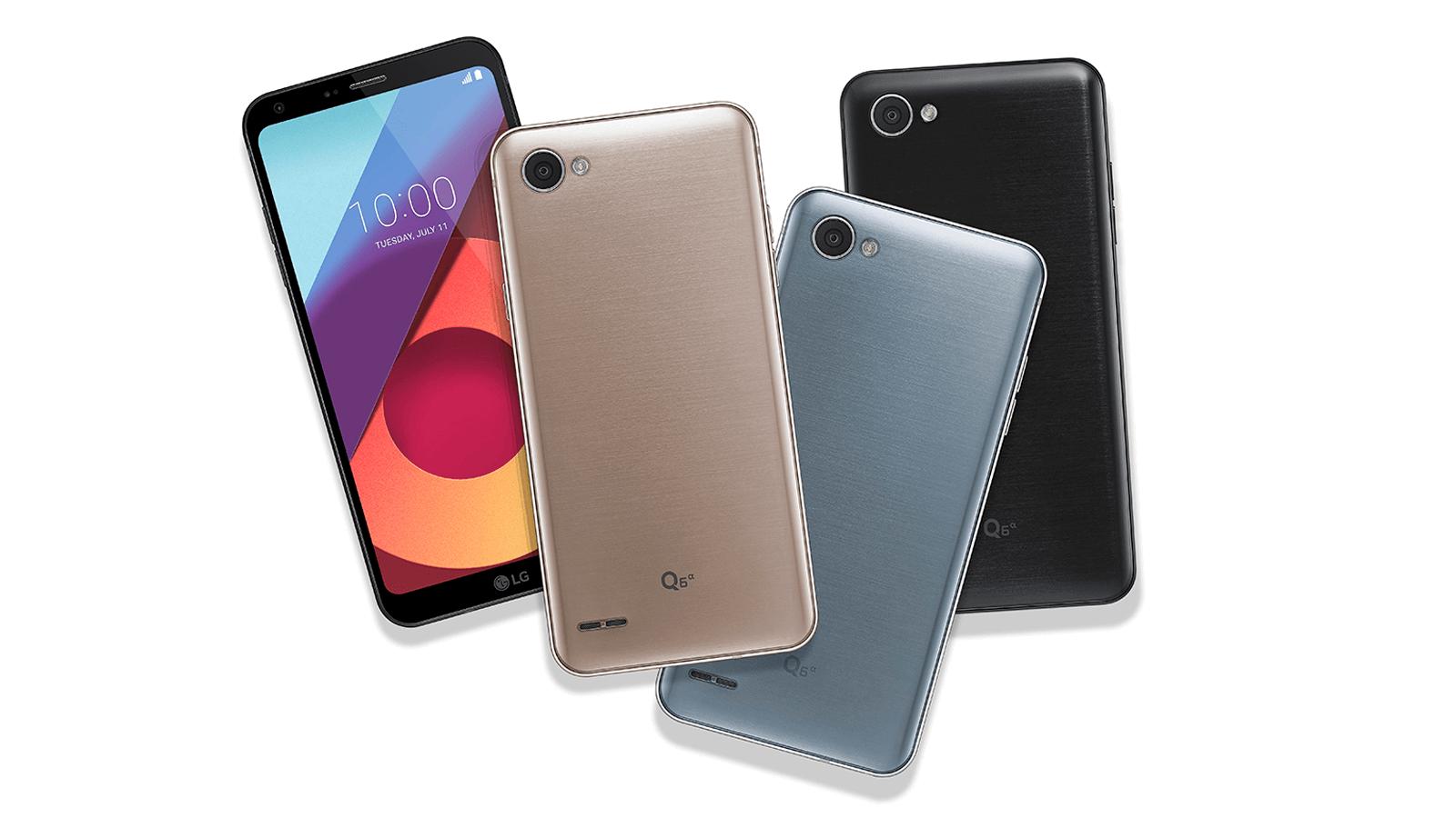 LG Q6 Plus Showmetech - Melhores smartphones intermediários de 2018
