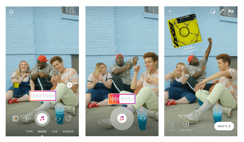 Instagram Stories terá trilha sonora