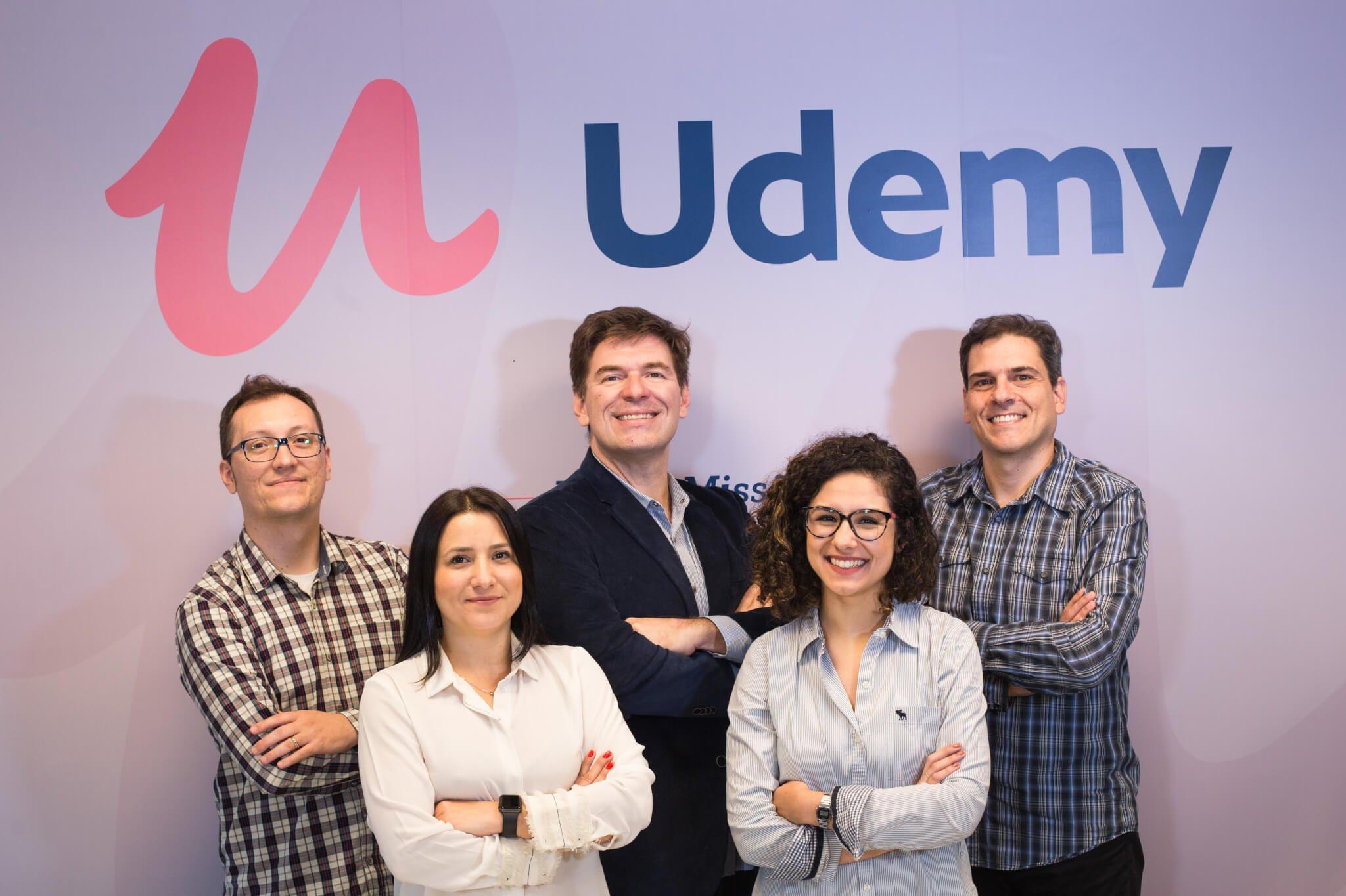 ND 6599 - Udemy Inaugura seu primeiro escritório no Brasil