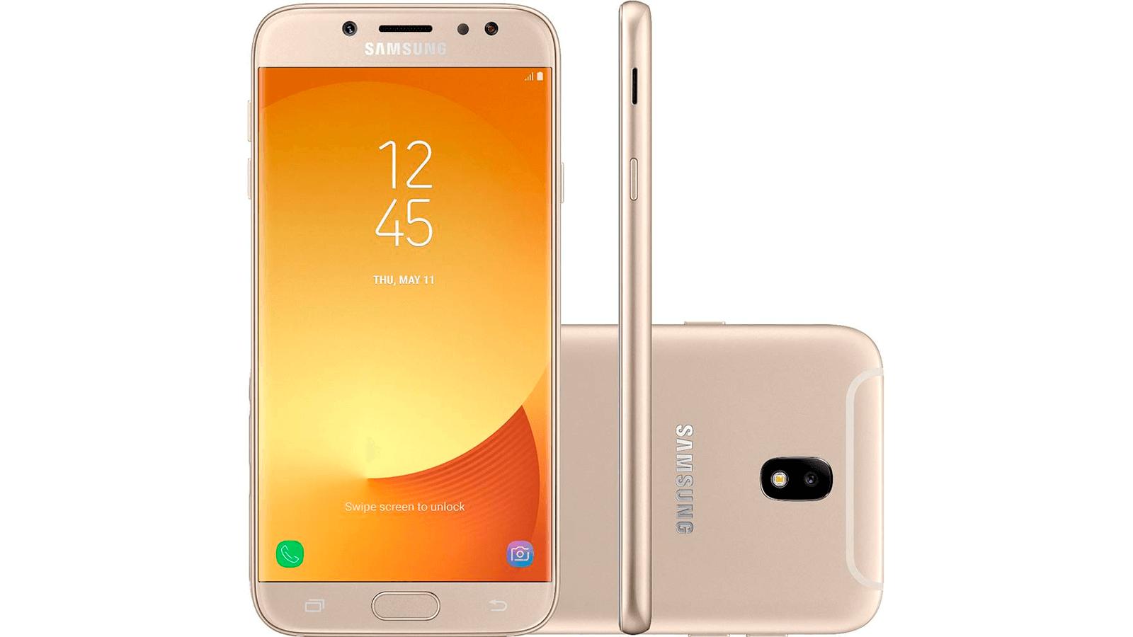 Samsung Galaxy J7 Pro Showmetech - Melhores smartphones intermediários de 2018