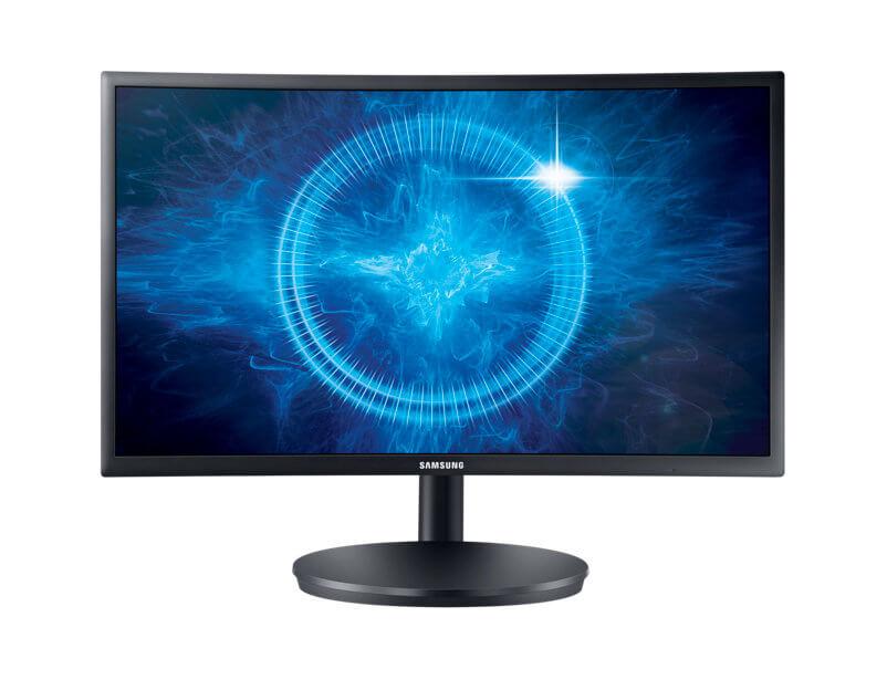 br gamer c24fg70 lc24fg70fqlxzd frontblack 64181837 - Review: monitor gamer Samsung C24FG70 possibilita imersão que todo jogador sonha