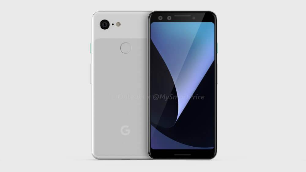 Google pixel 3 leak cad 1