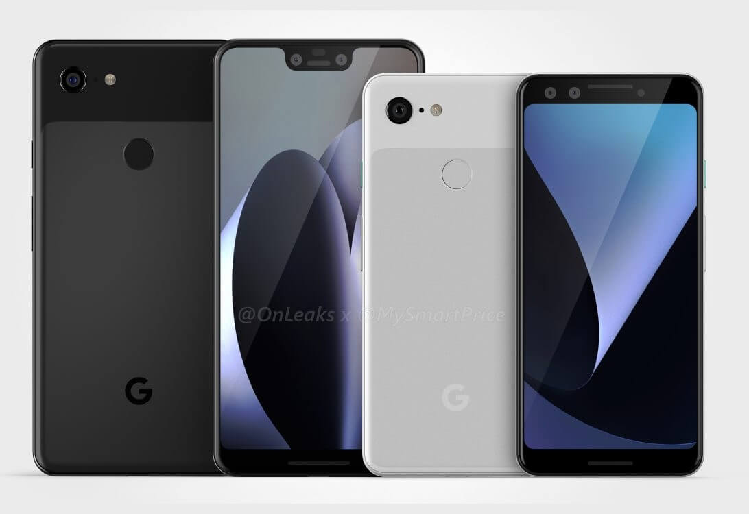Google pixel 3 xl leak cad 1 2