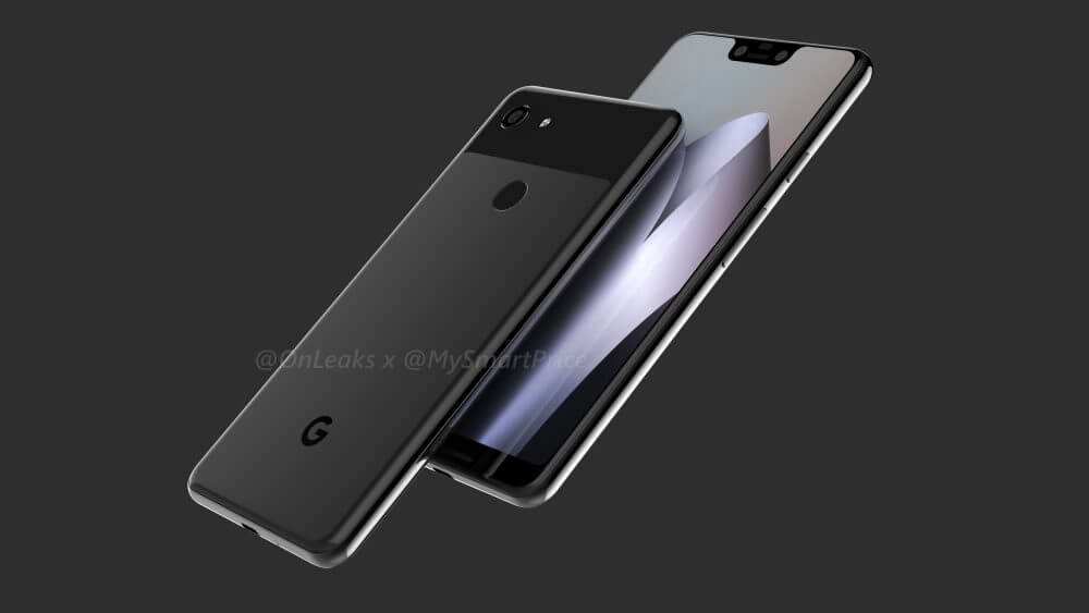 Google pixel 3 xl leak cad 2