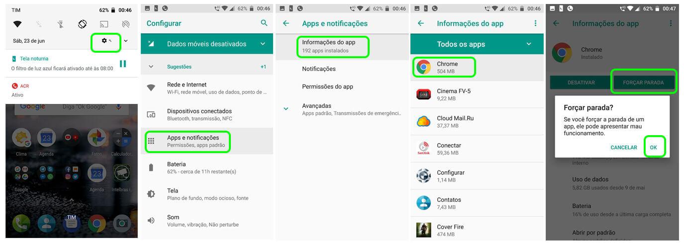 """Como remover o falso aviso dos """"quatro vírus"""" do seu Android 7"""
