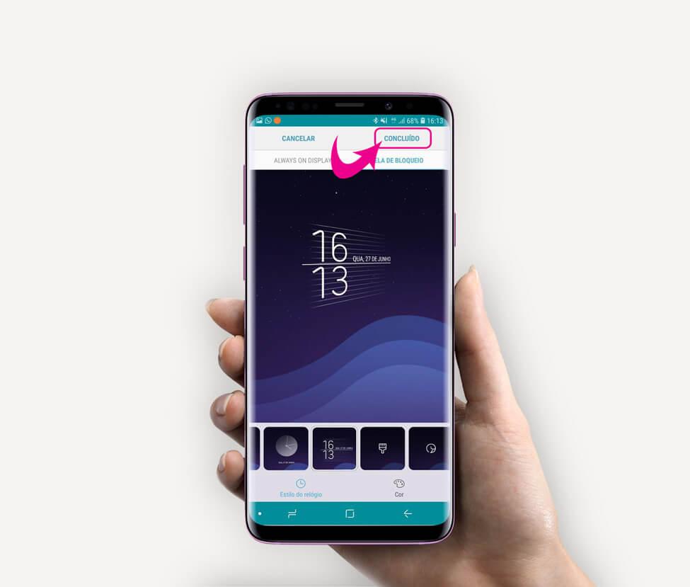Tutorial: use clock face para alterar o estilo do relógio do samsung galaxy. Entenda agora como fazer o download do novo aplicativo samsung clockface para alterar o estilo do relógio da tela de bloqueio e recurso always on display do galaxy.