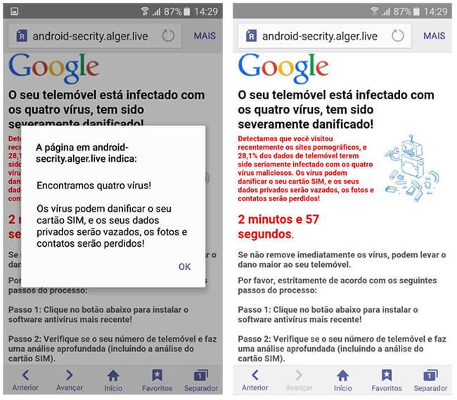 """Como remover o falso aviso dos """"quatro vírus"""" do seu Android 6"""