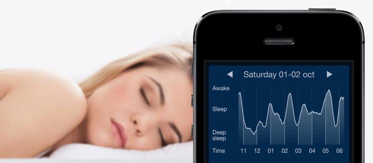 Resultado de imagem para sleep monitoring smartphone