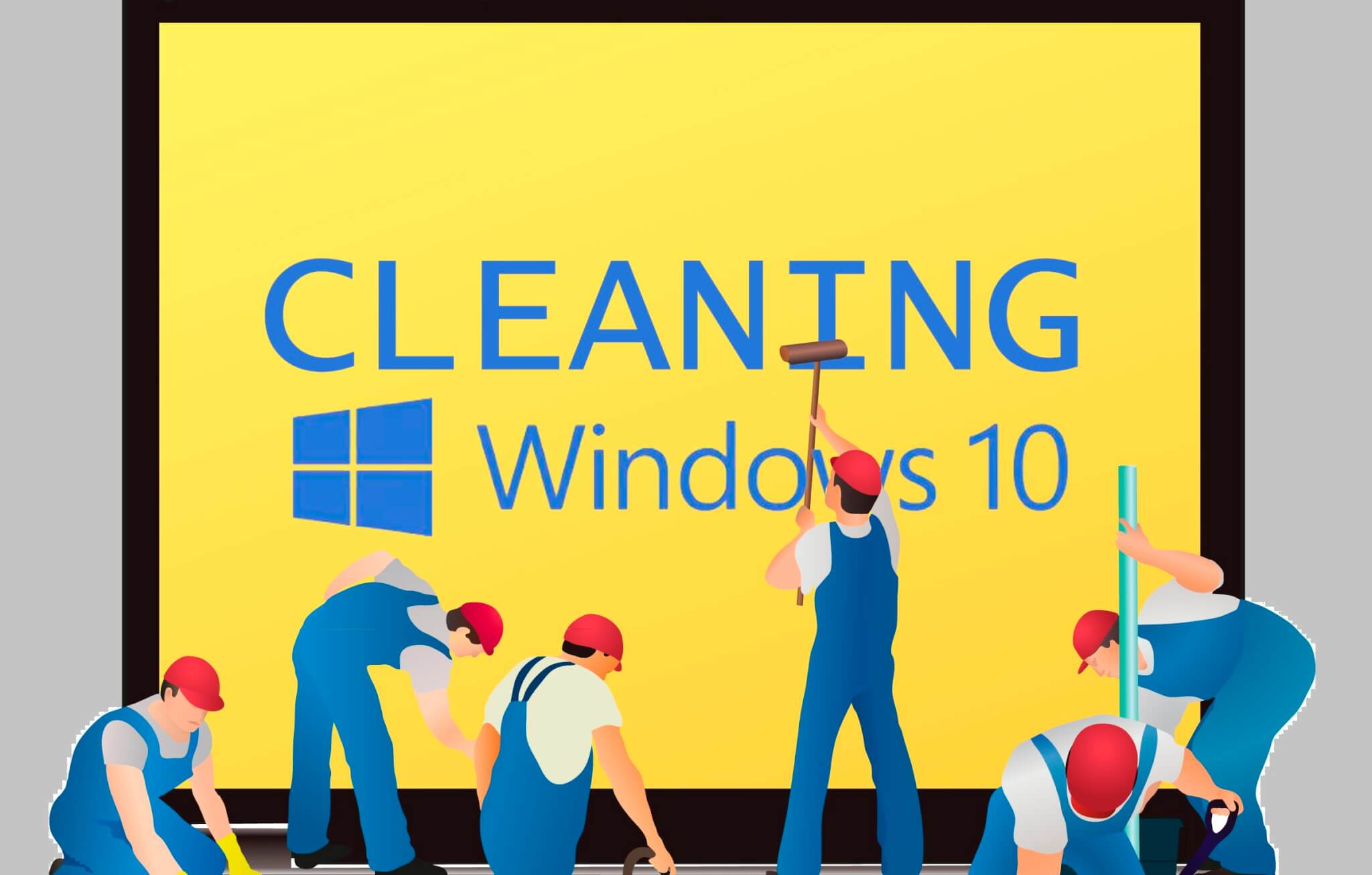 Clean win 10